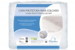 PROTECTIVE COVER FOR MATTRESSES SILVER - With Elastic Normal